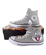 Converse x Looney Tunes Bugs Bunny Chuck Taylor All Star Hi Top Sneakers... - $48.97