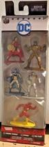 """DC Nano Metalfigs Wonder Woman Cyborg Flash Parademon Batman 1.5"""" - $8.87"""