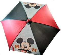ABG Accessories Kids Disney Mickey Mouse License Umbrella 90 Years Red B... - $14.84