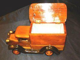 Wooden Toy Milk Truck AA19-1569 Vintage image 5