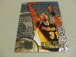 1995-96 Fleer Metal Silver Spotlight #45 Reggie Miller -Indiana Pacers- - $3.12