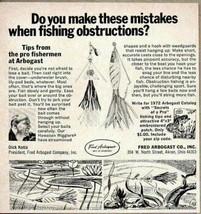 1972 Print Ad Arbogast Fishing Lures Akron,Ohio - $9.93