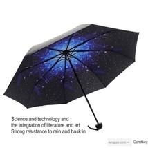 Umbrella, Manual OpenClose Travel Creative Star Umbrella Compact Umbrella Sky - $12.26