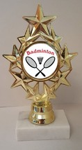 "Badminton Trophy 7"" Tall As Low As $3.99 Each Free Shipping T04N6 - $7.99+"