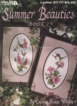 Summer Hummingbird Beauties 2, Leisure Arts Cross Stitch Pattern Booklet... - $3.95