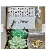 Personalized Charm Necklace,Succulent Handmade Soap,Birthday Gift Set,Go... - £15.98 GBP