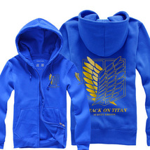 Attack on Titan Hoodies Unisex Padded Jacket - $55.99