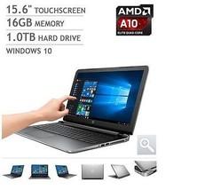 NEW HP Pavilion 15z Touchscreen Laptop Notebook AMD A10 16GB Bluetooth - $782.09