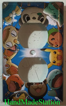 Pokemon Pikachu Friends Light Switch power Outlet Wall Cover Plate Home Decor image 2