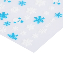 Snowflake Design Nail Sticker Manicure Decor Tools(SN-103) image 2