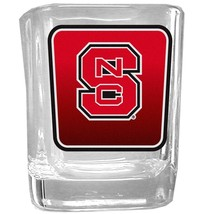 NCAA - N. Carolina St. Wolfpack Square Glass Shot Glass  - $20.99