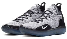 Nike Men's Zoom KD 11 Basketball Shoes Black White Racer Blue NIB AO2604... - $109.99