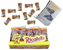 "Ricaletas Ricaleta Mexican Candy Paleta 13 Grams ""Mini"" Version Tamarind Flavore"