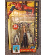 2004 Spider-Man 2 Doc Ock Movie Figure Tentacle Attack Action New In The... - $54.99
