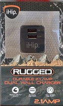 New IHip RUGGED DURABLE 2.1Amp Dual Wall Charger - $11.83