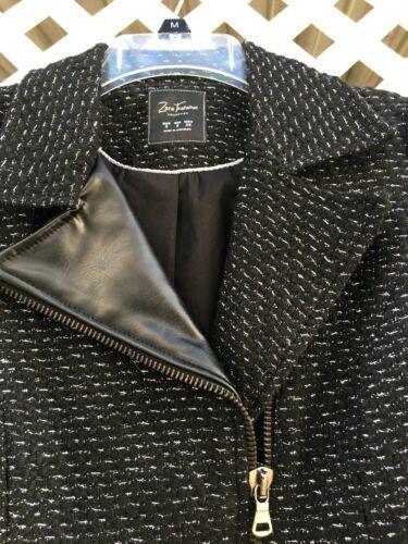 NWT Zara Trafaluc Faux Jacket Woman's Small