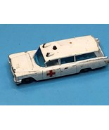 VINTAGE1960S MATCHBOX  NO 54 S AND S CADILLAC AMBULANCE - $14.85