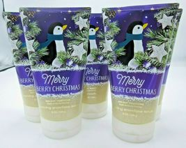 5 Bath & Body Works 8 oz Sparkling Snowflake Scrub Merry Berry Christmas - $49.99