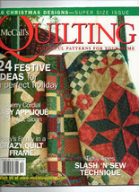 Dec 2004/McCall's Quilting/Preowned Craft Magazine - $3.99