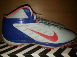 Nike Alpha Talon Elite New York Giant's Team Issue Cleats Size 14 Rare Colorway - $29.70