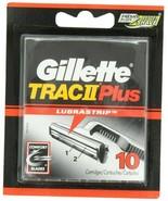 Gillette PR31272 Trac II Plus Refill Razor Cartridges - Pack of 10 - $14.36