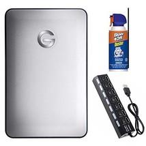 G-Technology G-DRIVE Mobile Portable Hard Drive 1TB/USB-C Bundle - $118.71