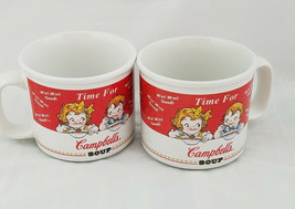Vintage 1998 Campbell's Kids Time For Campbells Soup Cup Mug Set Houston... - $34.52