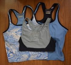 Lot of 3 Vintage Reebok Fitness Workout Sports Bra, Athletic Tank, Size Medium - $29.69