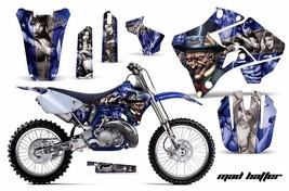 Dirt Bike Graphic Kit Decal Sticker Wrap For Yamaha YZ125 YZ250 96-01 HATTER S U - $169.95