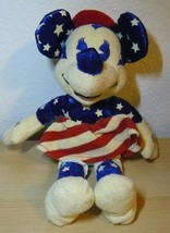 """Walt Disney Mini Bean Bag Red, White and Blue Minnie 8"""" - $8.91"""