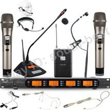 MICWL D400 Wireless Microphone 400 Channel Handheld Headset Lavalier Ins... - $345.19+