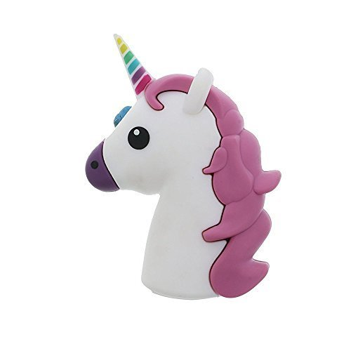 Emoji Powerbank 2200mah Power Bank External Battery Charger Poop Unicorn Cartoon
