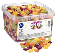 Ässä Fruit 2.2kg assorted sweet Candy Box FAZER Finland - $48.50