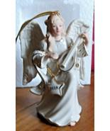 Lenox 2018 Angel's Mandolin Melody Ornament - 878293 - $15.79
