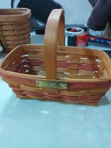Longaberger Christmas Collection Gingerbread Basket - 1990 Edition - $11.91