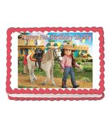 American Girl Saige Edible Cake Image Cake Topper - $8.98+