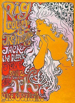 Primary image for Big Brother & the Holding Company - 1967 - The Ark - Concert Poster