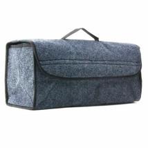 Trunk Box Tool Holder Bag Grey Travel Storage Bag Built Strong Velcrofix... - $23.41