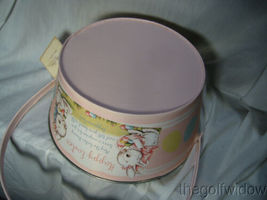 Bethany Lowe Designs Tin Pink Easter Bucket for Easter  image 5