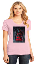 Marvel Captain Hydra District Made Ladies Perfect V-Neck T-Shirt Size XS To 4XL - $19.99+