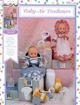 """Baby Air Fresheners"" Fibre Craft Crochet Patterns - $5.44"