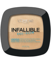L'Oreal Infallible Pro Glow Pressed Powder - 24 Natural Beige - .31 Oz - $5.92
