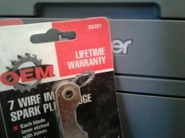 Three ,7 wire import spark plug gage. image 2