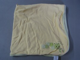 Vintage Gymboree 2006 Chomp Chomp Caterpillar Baby Blanket Yellow Green ... - $69.28