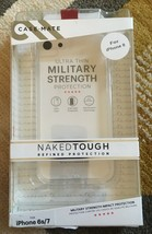 CASE MATE NAKED TOUGH IPHONE 6S/7/8 Series Military Strength NEW - $3.96