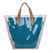 Cute Trendy Transparent out layer tote bag  - $59.95