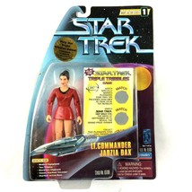 Star Trek DS9 Jadzia Dax Action Figure Trials and Tribble-ations TV - $14.80