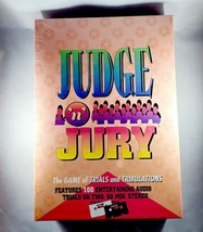 Judge 'N Jury Game of Murder Trials and Tribulations - Vintage 1995 NEW ... - $15.15