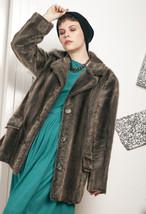 70s vintage faux fur coat - $76.41