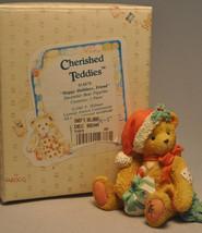 Cherished Teddies - Happy Holidays, Friend - December Bear - $10.59